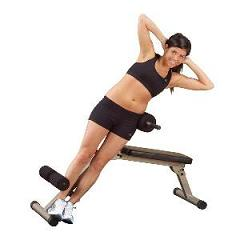Losing belly fat with the 45-degree extension bench | Weight Loss Note