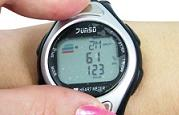 calculate heart rate for jogging