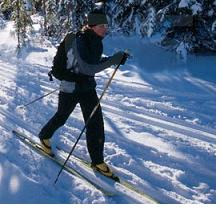 cross country skiing weight loss