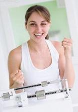 girl accelerates weight loss